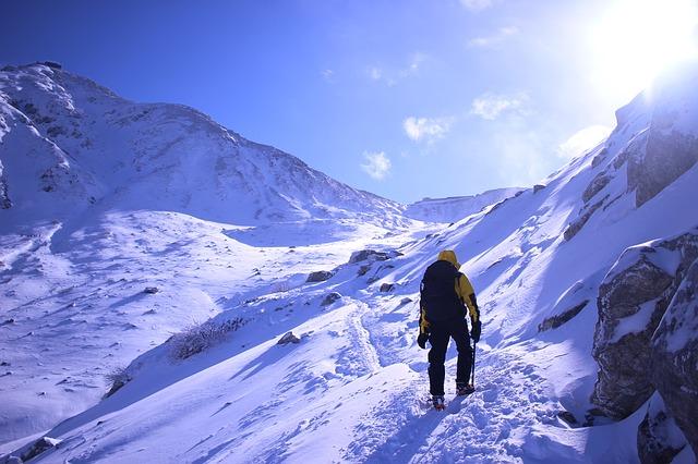登山へ挑戦