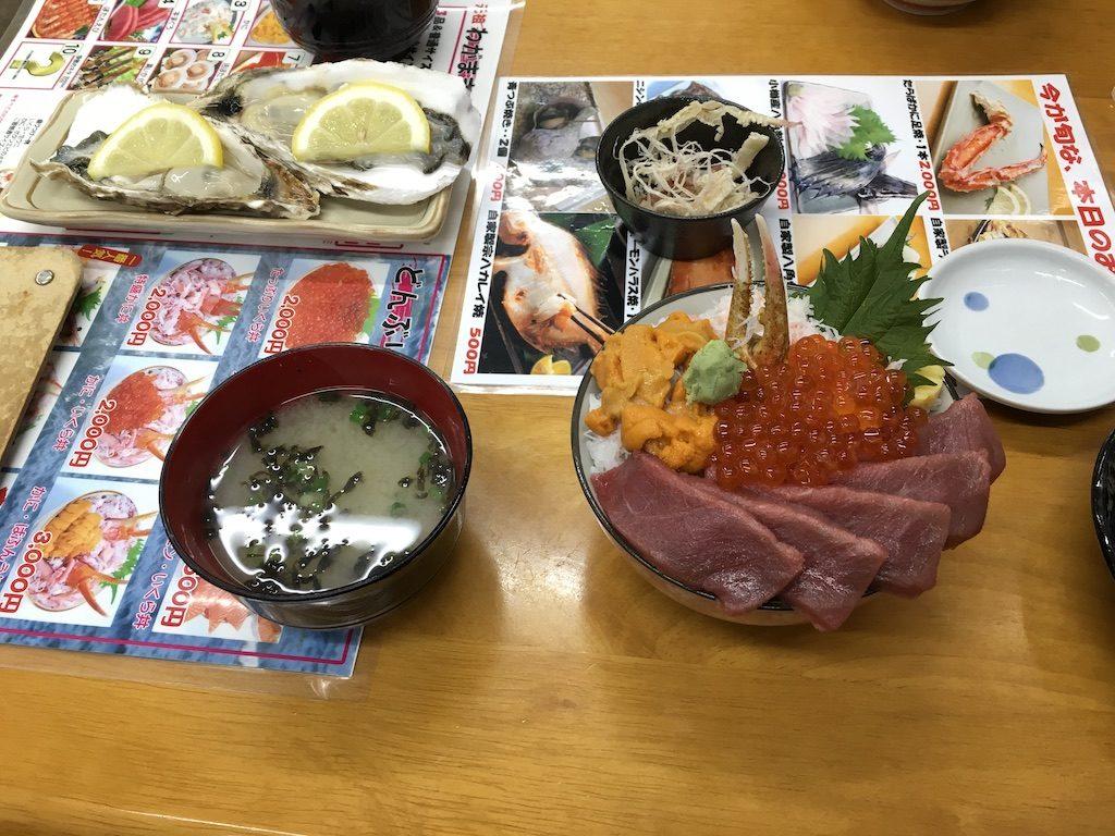 小樽の海鮮丼